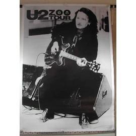 U2 - Zoo Tv tour - AFFICHE MUSIQUE / CONCERT / POSTER