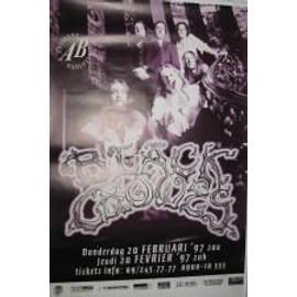 Black Crowes - B - 1997 - AFFICHE MUSIQUE / CONCERT / POSTER