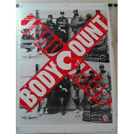 Body Count - AFFICHE MUSIQUE / CONCERT / POSTER