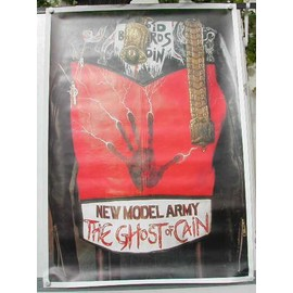 New Model Army - AFFICHE MUSIQUE / CONCERT / POSTER