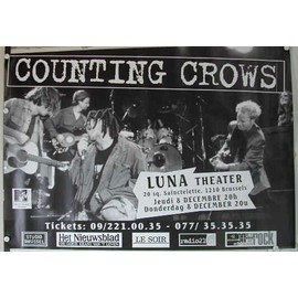 Counting Crows - AFFICHE MUSIQUE / CONCERT / POSTER