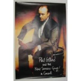 Collins Phil - In concert - AFFICHE MUSIQUE / CONCERT / POSTER