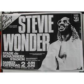Wonder Stevie - AFFICHE MUSIQUE / CONCERT / POSTER