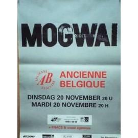 Mogwai - AFFICHE MUSIQUE / CONCERT / POSTER