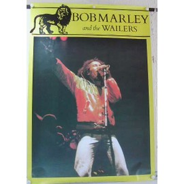 Marley Bob - And The Wailers - AFFICHE MUSIQUE / CONCERT / POSTER