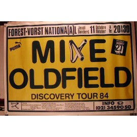 Oldfield Mike - AFFICHE MUSIQUE / CONCERT / POSTER