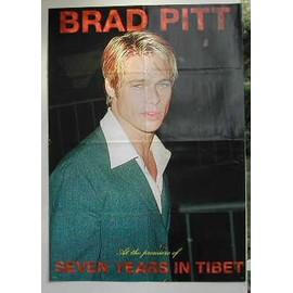 Pitt Brad - PLIEE - AFFICHE MUSIQUE / CONCERT / POSTER
