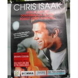 Isaak Chris - AFFICHE MUSIQUE / CONCERT / POSTER