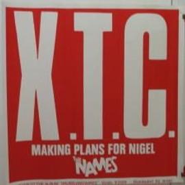 XTC - Rouge - AFFICHE MUSIQUE / CONCERT / POSTER