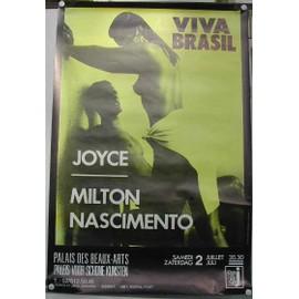 Viva Brasil - AFFICHE MUSIQUE / CONCERT / POSTER