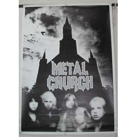 Metal Church - AFFICHE MUSIQUE / CONCERT / POSTER