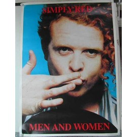 Simply Red - AFFICHE MUSIQUE / CONCERT / POSTER