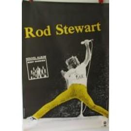 Stewart Rod - AFFICHE MUSIQUE / CONCERT / POSTER