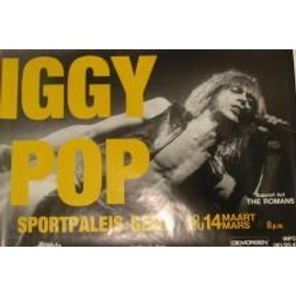 Pop Iggy - B - 1999 - AFFICHE MUSIQUE / CONCERT / POSTER
