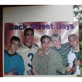Back Street Boys - PLIEE - AFFICHE MUSIQUE / CONCERT / POSTER