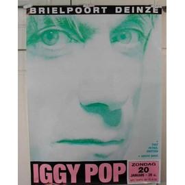 Pop Iggy - AFFICHE MUSIQUE / CONCERT / POSTER
