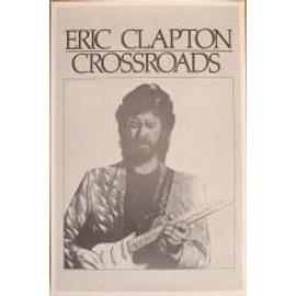 Clapton Eric - crossroads - AFFICHE MUSIQUE / CONCERT / POSTER