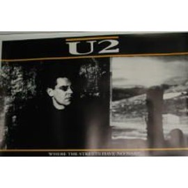 U2 - Streets - AFFICHE MUSIQUE / CONCERT / POSTER