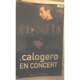 Calogero - AFFICHE MUSIQUE / CONCERT / POSTER