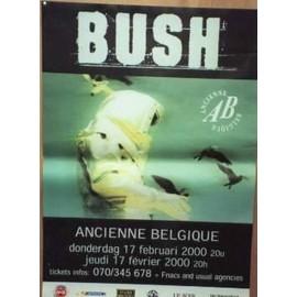 Bush - AFFICHE MUSIQUE / CONCERT / POSTER