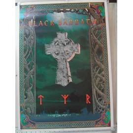Black Sabbath - AFFICHE MUSIQUE / CONCERT / POSTER