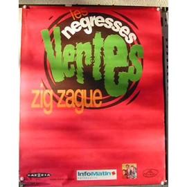 Les Negresses vertes - AFFICHE MUSIQUE / CONCERT / POSTER