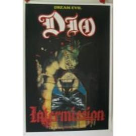 Dio - intermission - AFFICHE MUSIQUE / CONCERT / POSTER