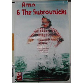 Arno & the subrovnicks - AFFICHE MUSIQUE / CONCERT / POSTER
