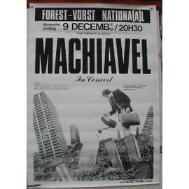 Machiavel - AFFICHE MUSIQUE / CONCERT / POSTER