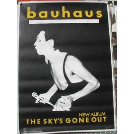 Bauhaus - AFFICHE MUSIQUE / CONCERT / POSTER