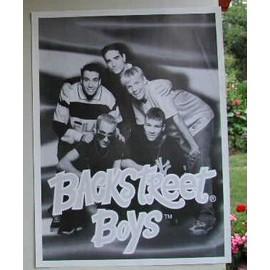Back Street Boys - AFFICHE MUSIQUE / CONCERT / POSTER