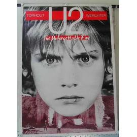 U2 - AFFICHE MUSIQUE / CONCERT / POSTER
