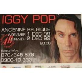 Pop Iggy - B - 1991 - AFFICHE MUSIQUE / CONCERT / POSTER