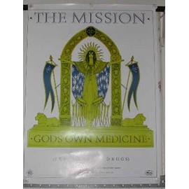 Mission The - AFFICHE MUSIQUE / CONCERT / POSTER