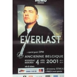 Everlast - AFFICHE MUSIQUE / CONCERT / POSTER