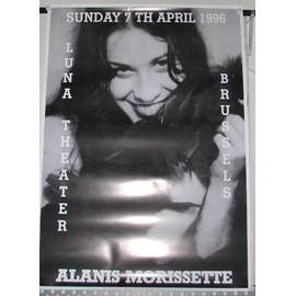 MORISSETTE Alanis - AFFICHE MUSIQUE / CONCERT / POSTER