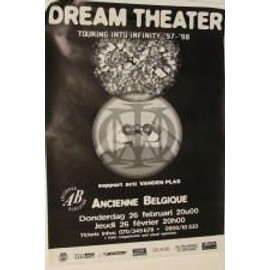 Dream Theater - B - 1997 - AFFICHE MUSIQUE / CONCERT / POSTER