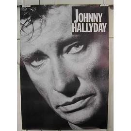 Hallyday Johnny - AFFICHE MUSIQUE / CONCERT / POSTER