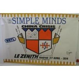 Simple Minds - Sparkle - AFFICHE MUSIQUE / CONCERT / POSTER