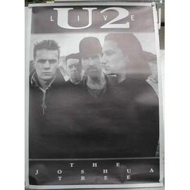 U2 - the Joshua Tree - AFFICHE MUSIQUE / CONCERT / POSTER