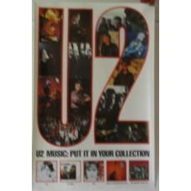 U2 - The collection - AFFICHE MUSIQUE / CONCERT / POSTER