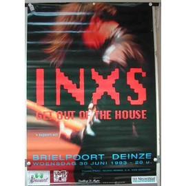 INXS - AFFICHE MUSIQUE / CONCERT / POSTER