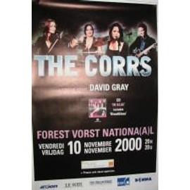 Corrs The - B - 2000 - AFFICHE MUSIQUE / CONCERT / POSTER