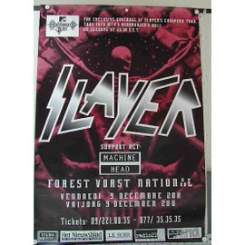 Slayer - AFFICHE MUSIQUE / CONCERT / POSTER