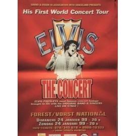 PRESLEY Elvis - AFFICHE MUSIQUE / CONCERT / POSTER