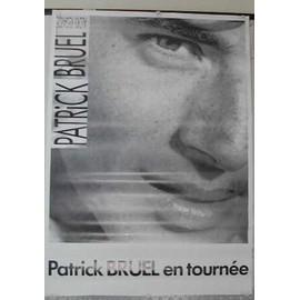 Bruel Patrick - AFFICHE MUSIQUE / CONCERT / POSTER