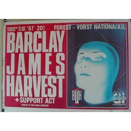Barclay James Harvest - AFFICHE MUSIQUE / CONCERT / POSTER