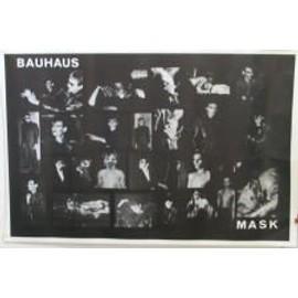 Bauhaus - Mask - AFFICHE MUSIQUE / CONCERT / POSTER
