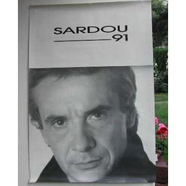 Sardou Michel - AFFICHE MUSIQUE / CONCERT / POSTER