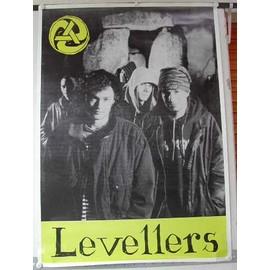 Levellers - AFFICHE MUSIQUE / CONCERT / POSTER